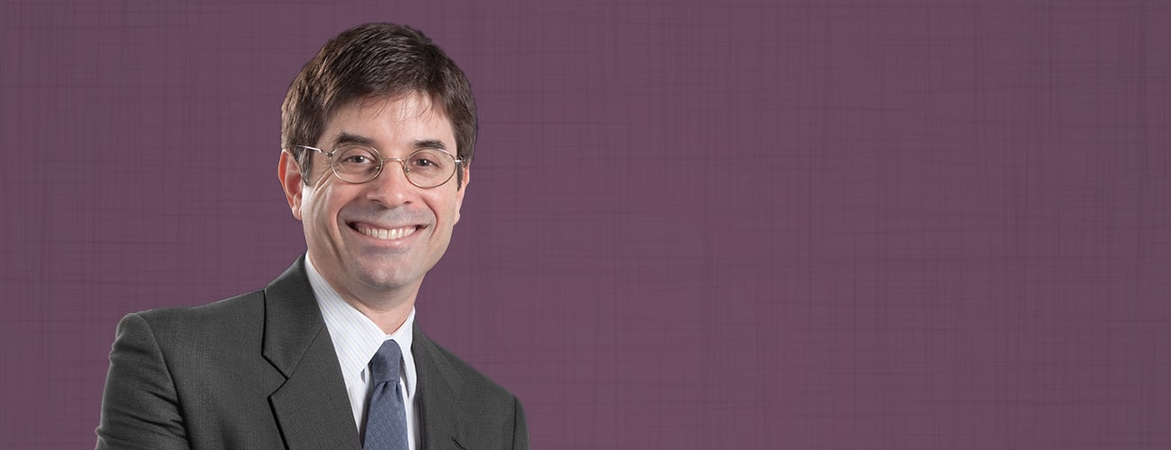 Attorney Photo over purple background